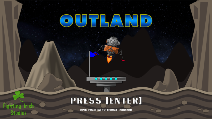 The Cosmic Explorer - Outland, mini-game