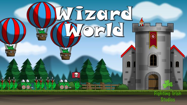 Fighting Irish Studios Wizard World Video Game