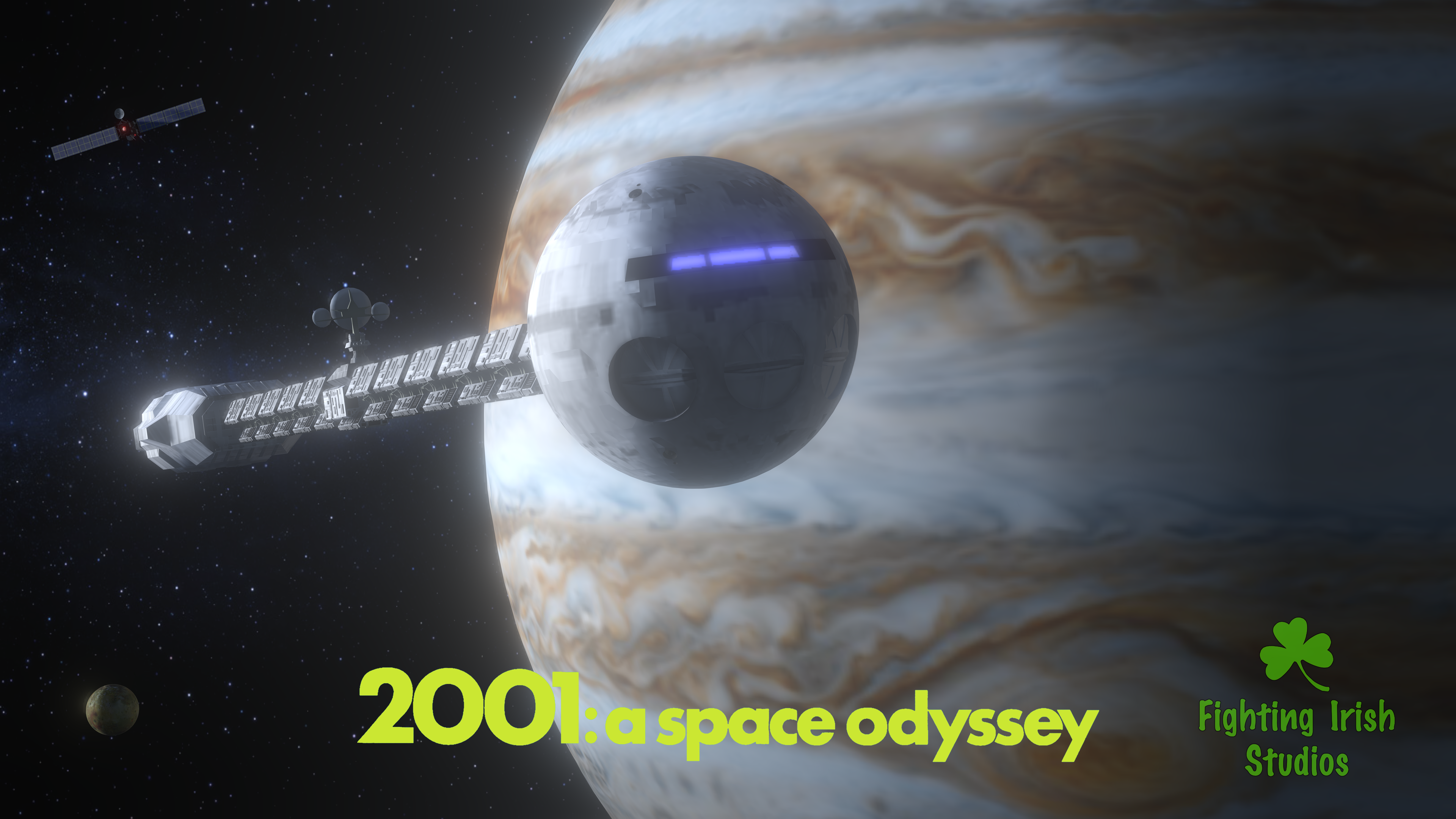 2001:a space odyssey -- 2D & 3D animation Services Fighting Irish Studios