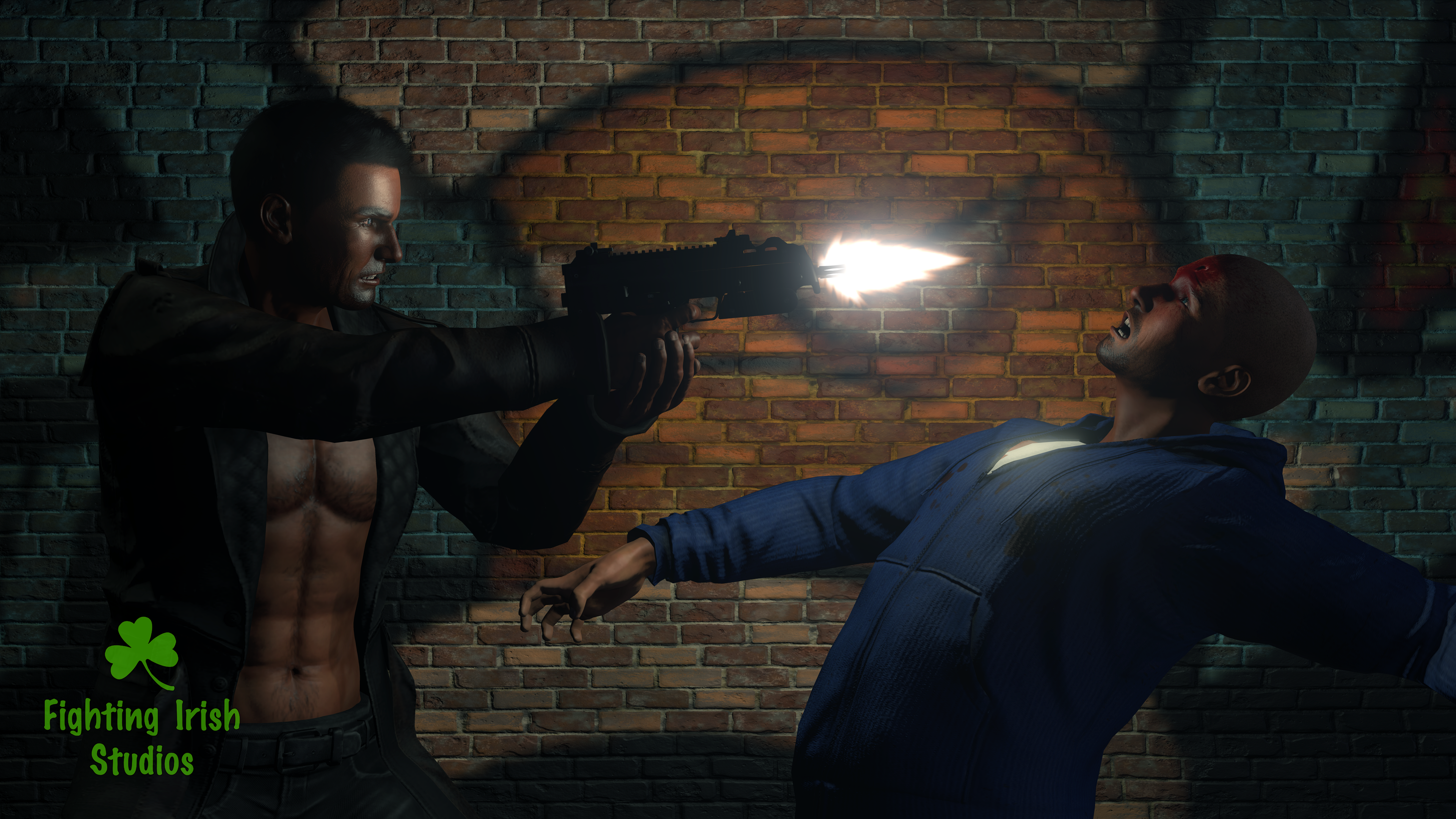 The Shooter -- 2D & 3D animation Services Fighting Irish Studios