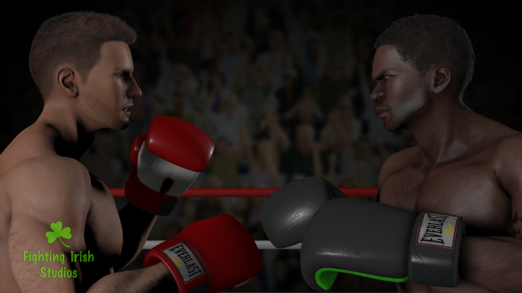 The Boxers-- 2D & 3D animation Services Fighting Irish Studios