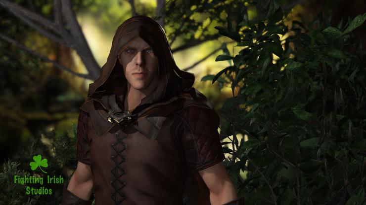 Forest Assassin -- 2D & 3D animation Services Fighting Irish Studios