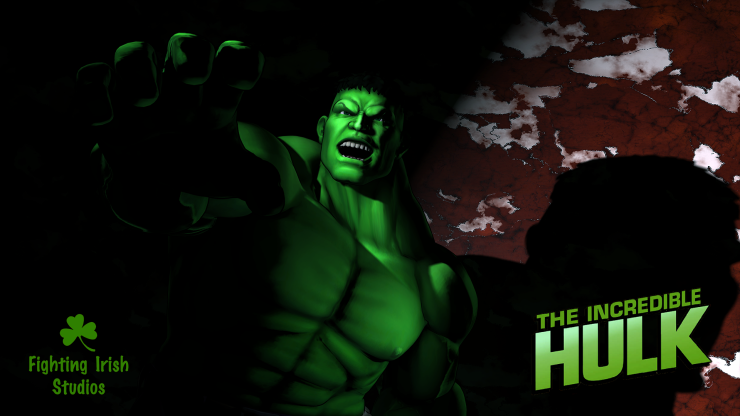 The Incredible Hulk-- 2D & 3D animation Services Fighting Irish Studios