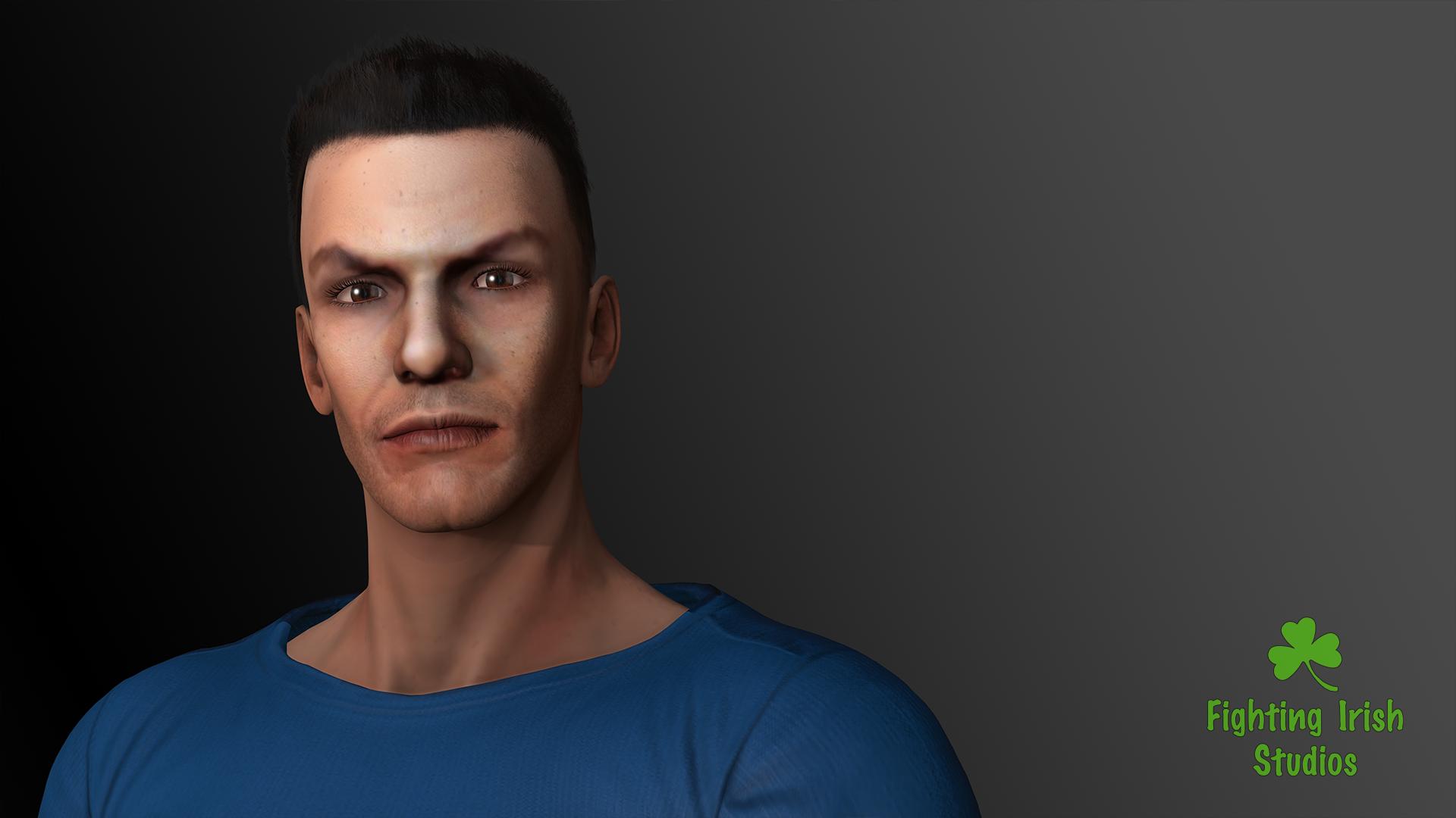 The Portrait -- 2D & 3D animation Services Fighting Irish Studios