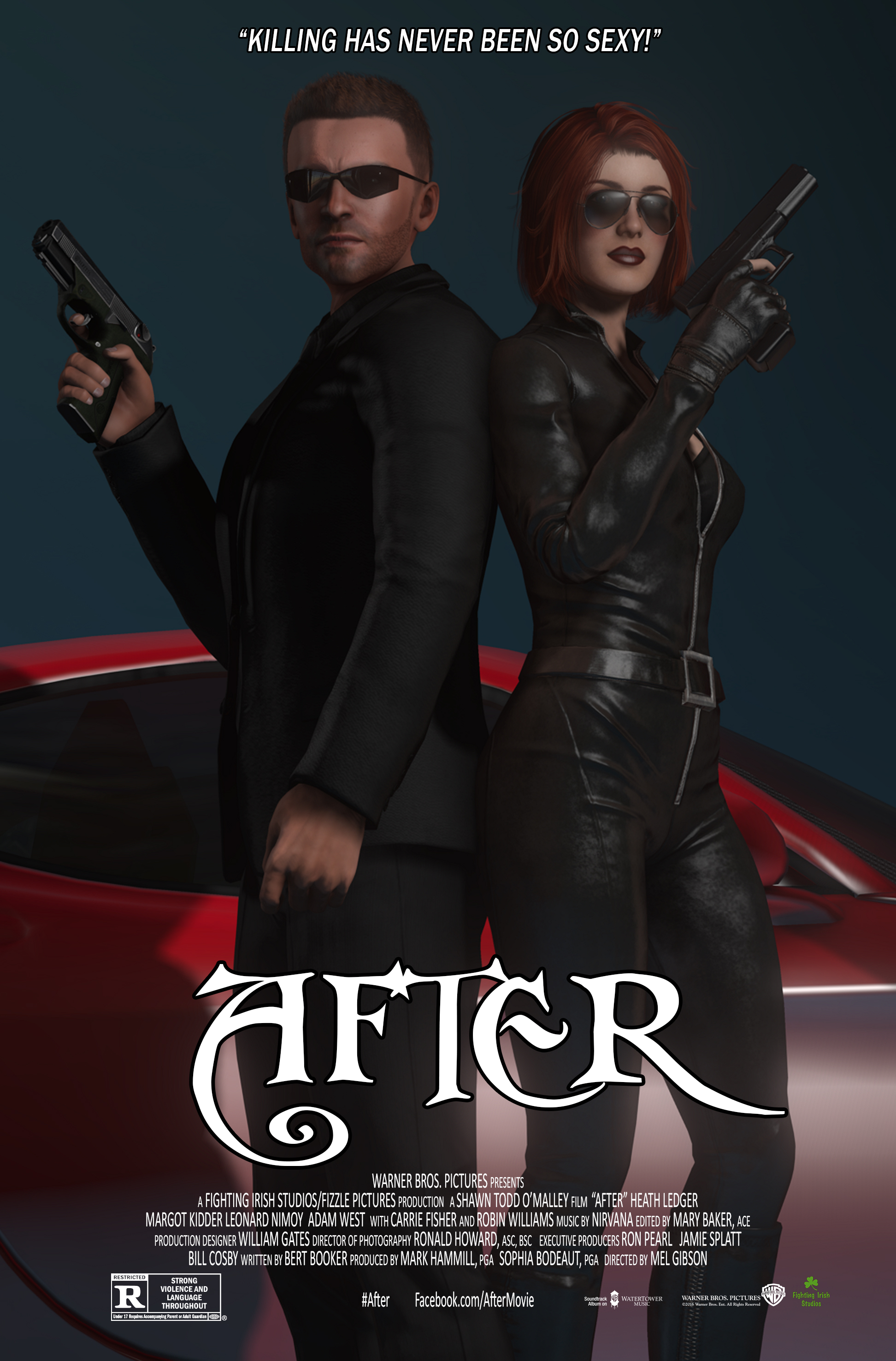 'After' Movie Poster by Fighting Irish Studios