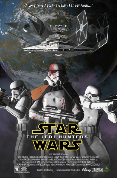 Star Wars: The Jedi Hunters Movie Poster by Fighting Irish Studios