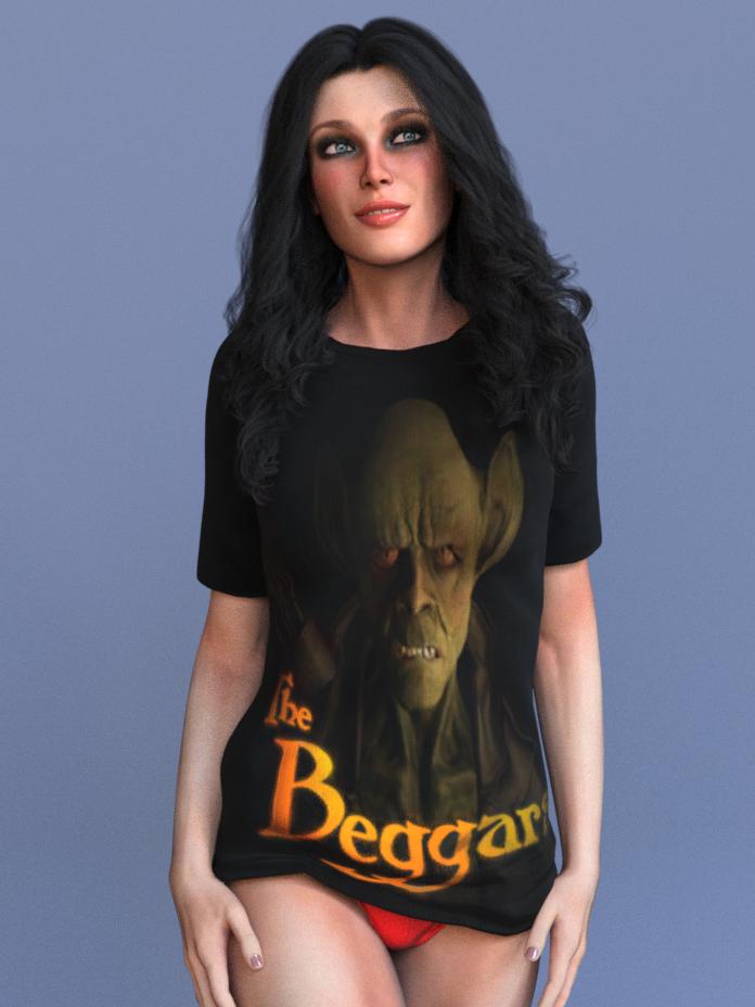 The Beggars T-Shirt by Fighting Irish Studios