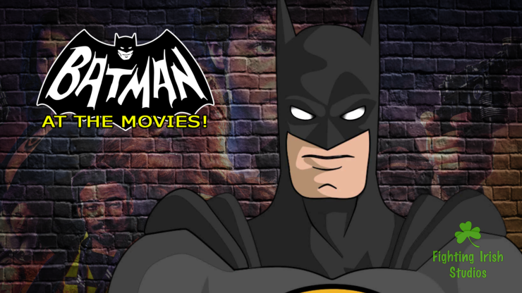 Batman, At The Movies by Fighting Irish Studios